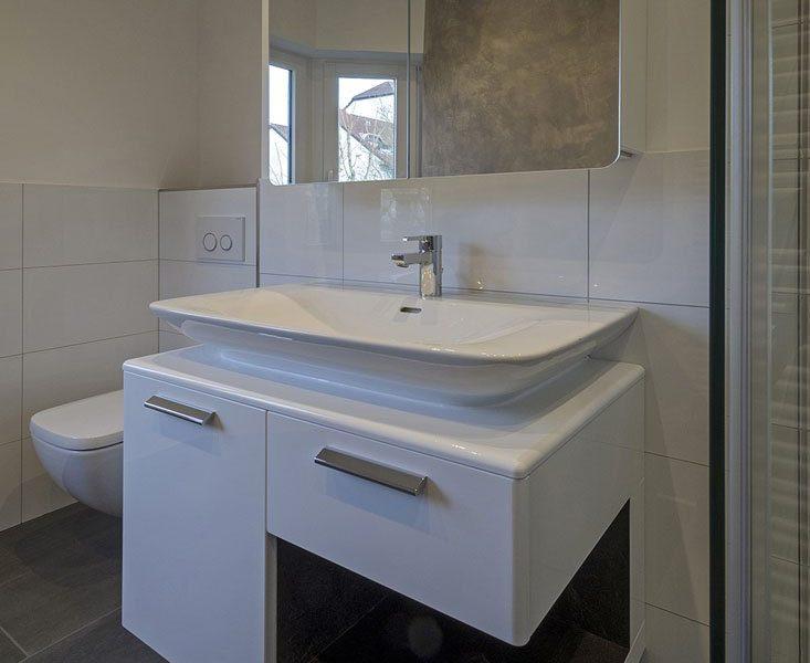 Badezimmer-Sanierung